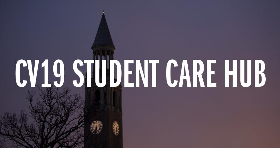 CV-19 student care hub