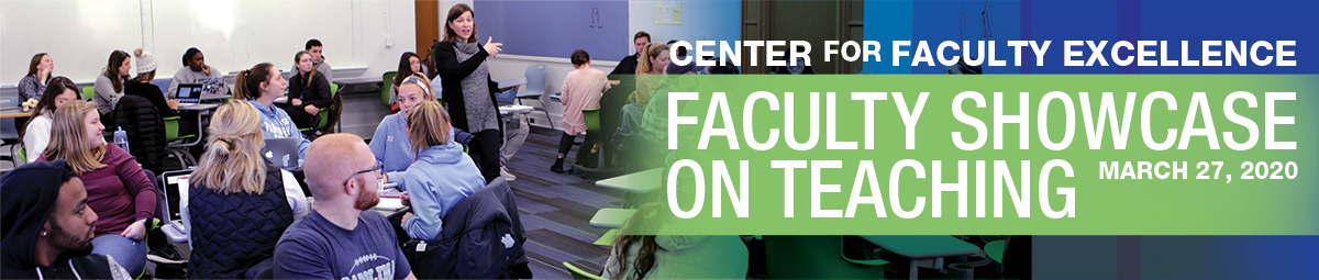 center for faculty excellence faculty showcase on teaching march 27, 2020
