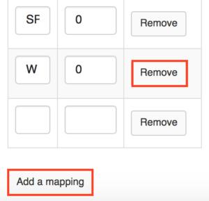 add or remove letter grade in Sakai Gradebook